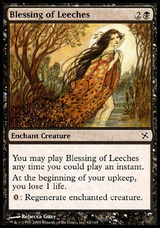 Blessing of Leeches, Betrayers of Kamigawa