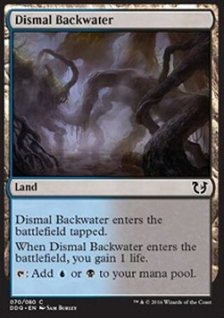 Dismal Backwater, Blessed vs Cursed
