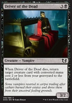 Driver of the Dead, Blessed vs Cursed