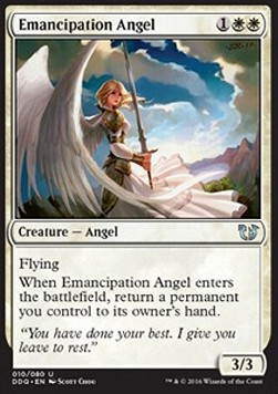 Emancipation Angel, Blessed vs Cursed