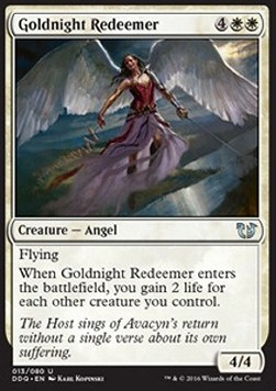 Goldnight Redeemer, Blessed vs Cursed