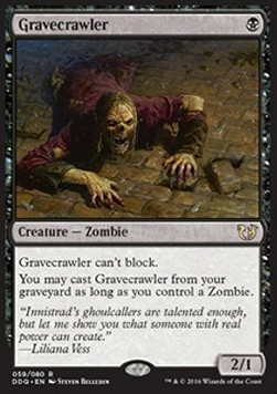 Gravecrawler, Blessed vs Cursed