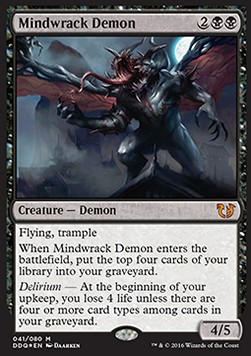 Mindwrack Demon, Blessed vs Cursed