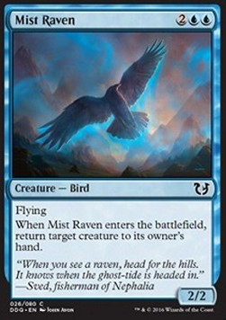 Mist Raven, Blessed vs Cursed