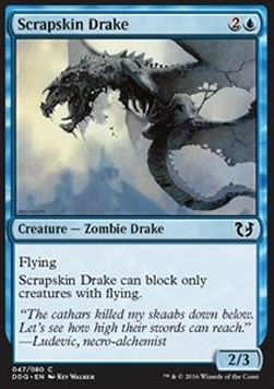 Scrapskin Drake, Blessed vs Cursed