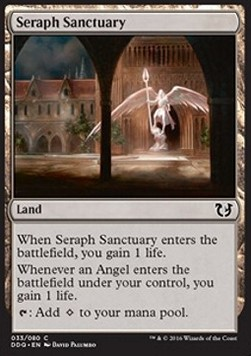 Seraph Sanctuary, Blessed vs Cursed