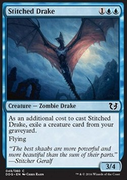 Stitched Drake, Blessed vs Cursed