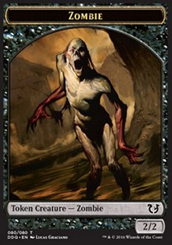Zombie Token, Blessed vs Cursed