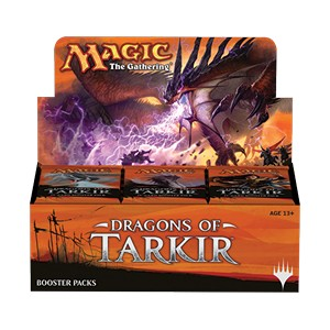 Dragons of Tarkir Boosterbox, Boosterboxen