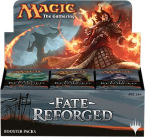 Fate Reforged Boosterbox, Boosterboxen