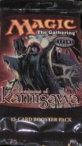 Champions of Kamigawa Booster, Boosters