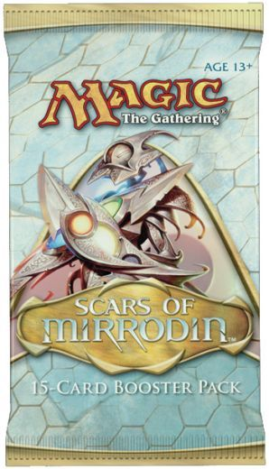 Scars of Mirrodin Booster, Boosters