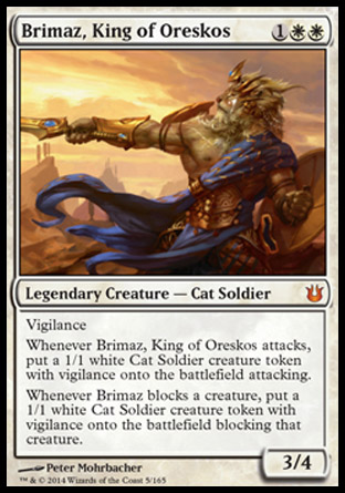Brimaz, King of Oreskos, Born of the Gods