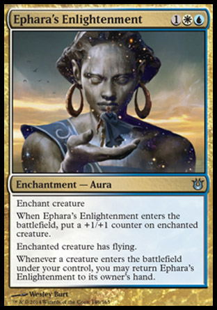 Ephara's Enlightenment, Born of the Gods