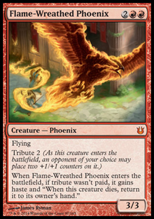 Flame-Wreathed Phoenix, Born of the Gods