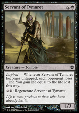 Servant of Tymaret, Born of the Gods