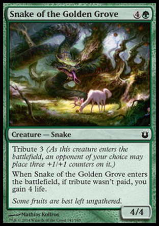 Snake of the Golden Grove, Born of the Gods