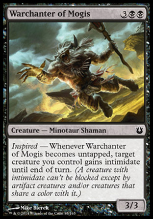 Warchanter of Mogis, Born of the Gods