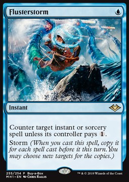 Flusterstorm, Buy a Box Promos
