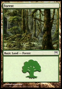 Forest, Champions of Kamigawa