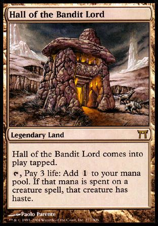 Hall of the Bandit Lord, Champions of Kamigawa