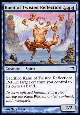 Kami of Twisted Reflection, Champions of Kamigawa