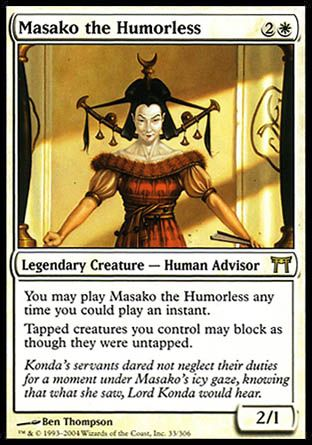 Masako the Humorless, Champions of Kamigawa