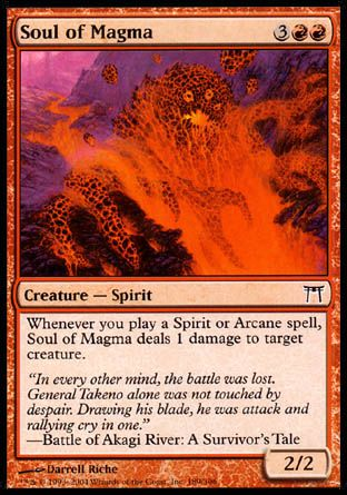 Soul of Magma, Champions of Kamigawa