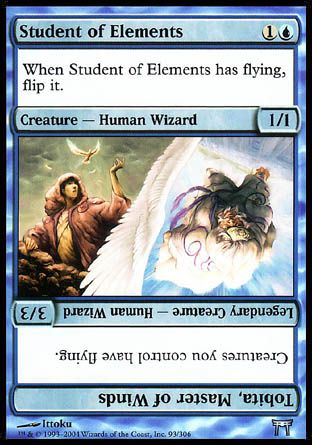 Student of Elements, Champions of Kamigawa