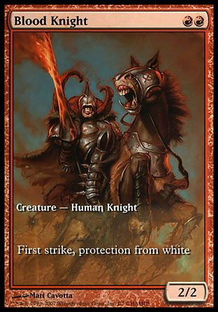 Blood Knight, Champs