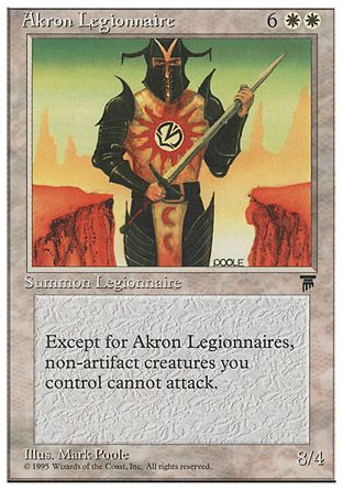 Akron Legionnaire, Chronicles