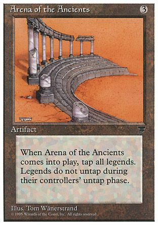 Arena of the Ancients, Chronicles