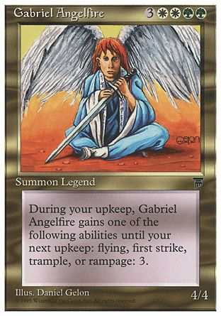 Gabriel Angelfire, Chronicles