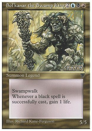 Sol'kanar the Swamp King, Chronicles