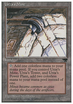 Urza's Mine, Chronicles