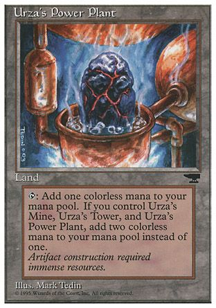Urza's Power Plant, Chronicles