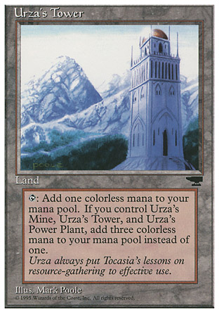 Urza's Tower, Chronicles