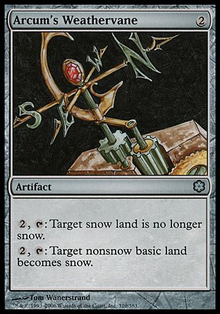 Arcum's Weathervane, Coldsnap Theme Decks