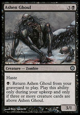 Ashen Ghoul, Coldsnap Theme Decks