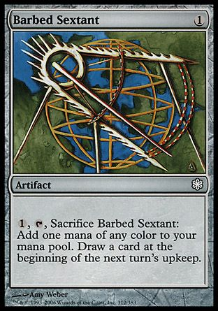 Barbed Sextant, Coldsnap Theme Decks