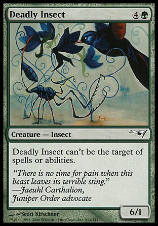 Deadly Insect, Coldsnap Theme Decks
