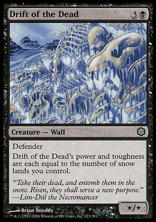 Drift of the Dead, Coldsnap Theme Decks