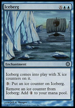 Iceberg, Coldsnap Theme Decks