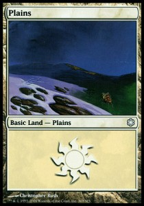 Plains, Coldsnap Theme Decks