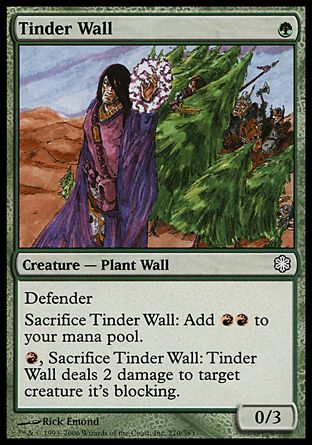 Tinder Wall, Coldsnap Theme Decks