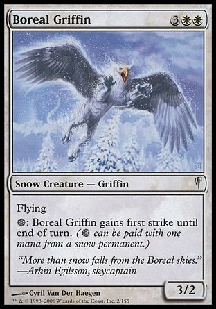 Boreal Griffin, Coldsnap