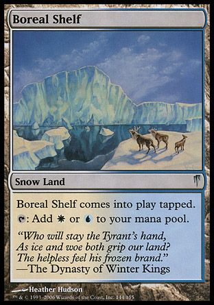 Boreal Shelf, Coldsnap
