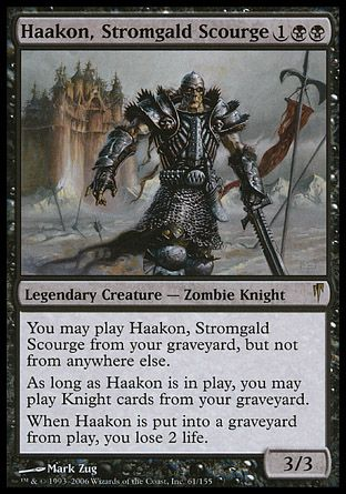 Haakon, Stromgald Scourge, Coldsnap