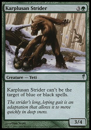 Karplusan Strider, Coldsnap