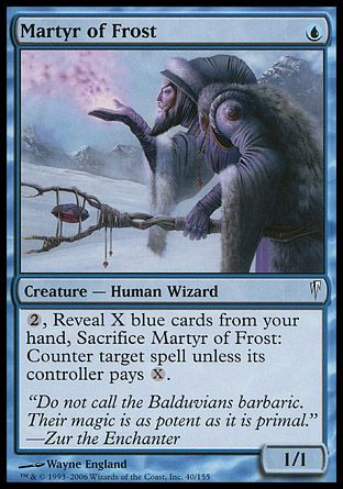 Martyr of Frost, Coldsnap